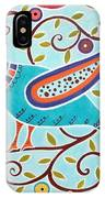 Folk Bird IPhone Case