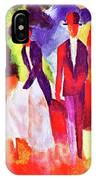 Folks At The Blue Sea By August Macke IPhone Case