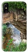 Fonferek Glen Rock Bridge And Falls IPhone Case