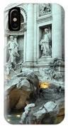 Fontana Di Trevi IPhone Case