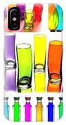 Food Coloring Ensemble-rainbow Theme IPhone Case