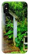 Foot Bridge And Fence IPhone Case
