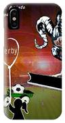 Football Derby Rams Against Ipswich Tractor Boys IPhone Case