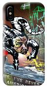 Football Derby Rams Against Plymouth Pilgrims IPhone Case