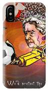 Football Derby Rams Against Swansea Swans IPhone Case