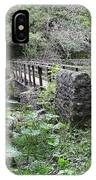 Footbridge At Millers Dale IPhone Case