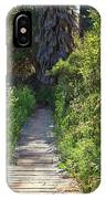 Footpath In Peters Canyon I IPhone Case