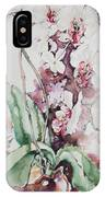 For The Love Of Orchids IPhone Case