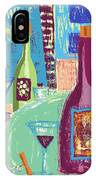 For The Love Of Wine IPhone Case