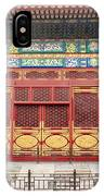 Forbidden City Building Detail IPhone Case