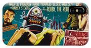 Forbidden Planet In Cinemascope Retro Classic Movie Poster IPhone Case