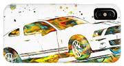 Ford Mustang Paint Splatter IPhone Case