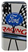 Ford Racing Emblem IPhone Case