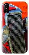 Ford Roadster Grille IPhone Case
