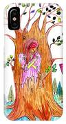 Forest Angel IPhone Case