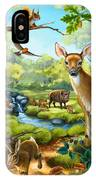 Forest Animals IPhone X Case