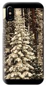 Forest Christmas Tree IPhone Case