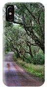 Forest Corridor IPhone Case