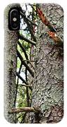 Forest Corrosion Bark IPhone Case