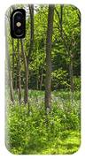 Forest Floor Dame's Rocket IPhone Case