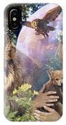 Forest Friends 2 IPhone Case