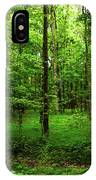 Forest Greenery IPhone Case