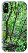 Forest In Hdr IPhone Case