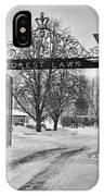 Forest Lawn Gate 4391 IPhone Case