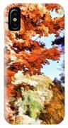 Forest Of Fall Colors IPhone Case