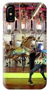 Forest Park Carousel IPhone Case