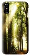 Forest Rays IPhone Case