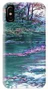 Forest River Scene. L B IPhone Case