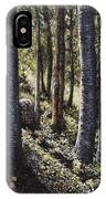 Forest Shadows IPhone Case