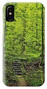 Forest Stairs IPhone X Case