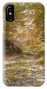 Forest Stone Path IPhone Case