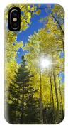 Forest Sunshine IPhone Case