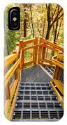 Forest Tower Steps IPhone Case