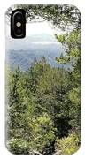 Forest View From Mt Tamalpais IPhone Case