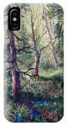 Forest Wildflowers IPhone Case