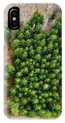 Forest With Green Trees From Above IPhone Case