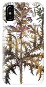 Forget-me-not & Acanthus IPhone Case