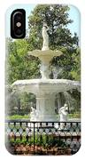 Forsyth Park Fountain Square IPhone Case