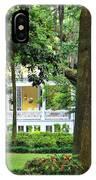 Forsyth Park Inn In Savannah  3205 IPhone Case