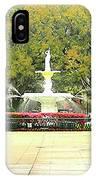 Forsyth Park Savannah IPhone Case