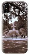 Forsyth Park Sepia IPhone Case