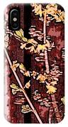 Forsythia Branch IPhone Case