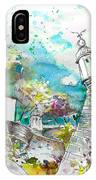 Fort And Houses In Valenca IPhone Case