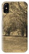Fort Frederica Oaks IPhone Case