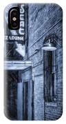 Fort Worth Impressions Scat Lounge Bw IPhone Case