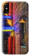 Fort Worth Impressions Scat Lounge IPhone Case